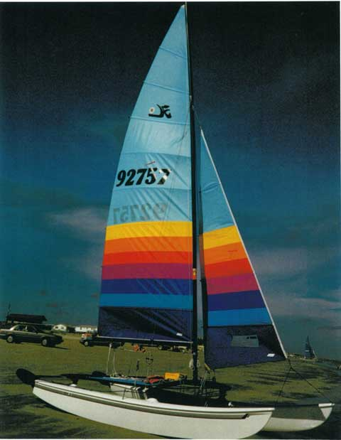 Hobie 16, 1988 sailboat