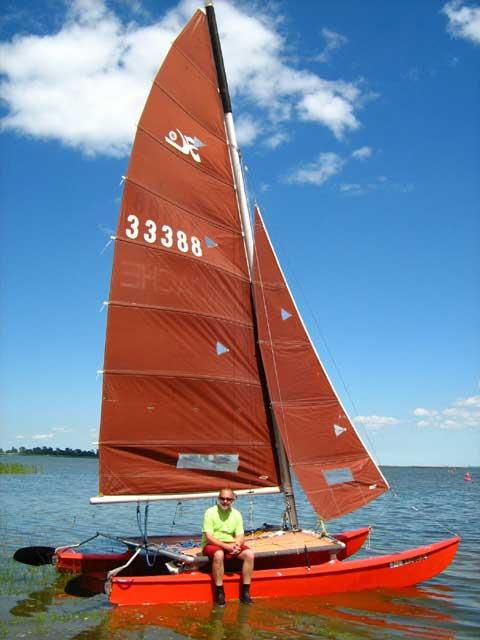 Hobie 16, Catamaran, 1979 sailboat