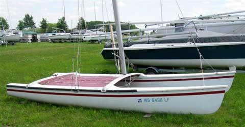Hobie 18 catamaran