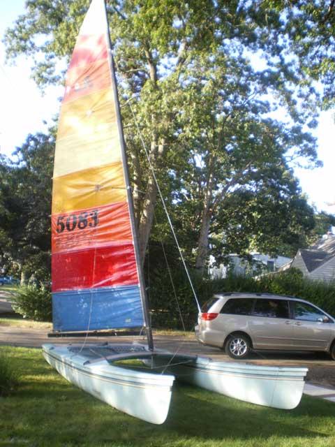 Hobie Cat 18, 1981 sailboat