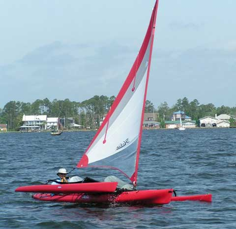 Hobie Tandem Island 18, 2010 sailboat