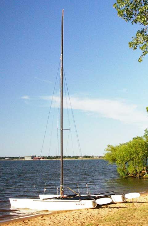 Hobie Miracle 20 Catamaran, 1991 sailboat