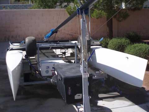 Hobie Catamaran Miracle 20�, 1992 sailboat