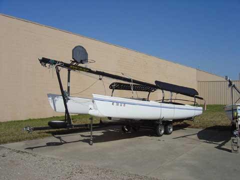 Hobie Cat, 21 SE sailboat
