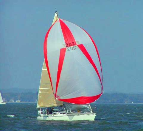 Hobie 33 sailboat