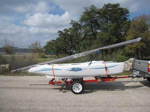 Hobie Bravo sailboat