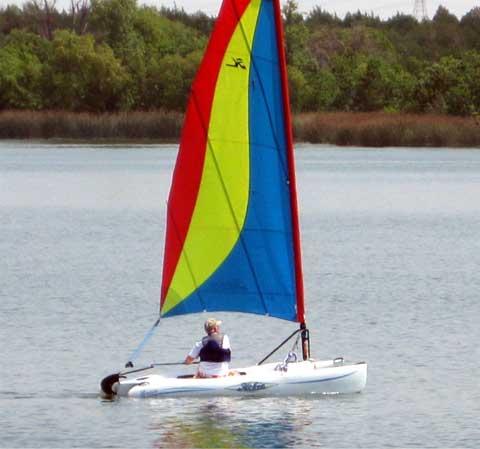 Hobie Bravo Catamaran, 12', 2005sailboat