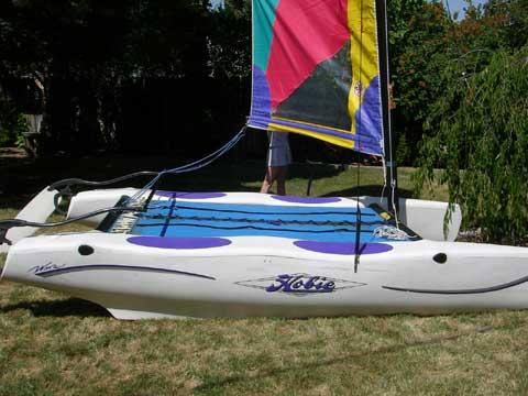 Hobie Wave sailboat