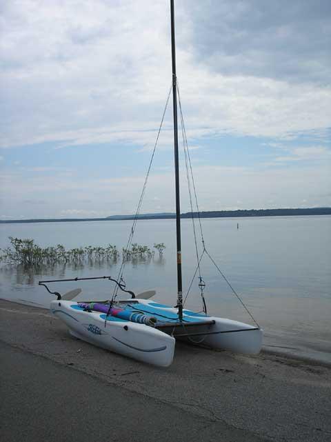 Hobie Wave, 2003 sailboat