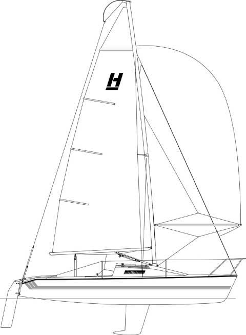 Holder 20 sailboat