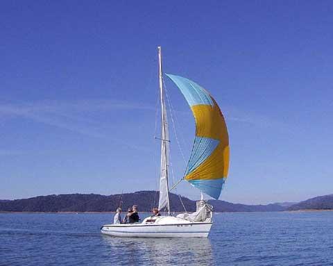 Holder 20, 1983 sailboat