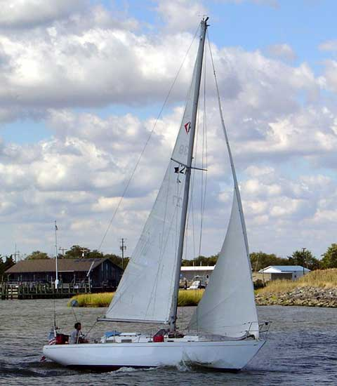 Hughes 38 Sailboat For Sale