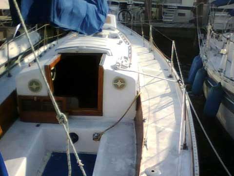 Hughes 38 sailboat