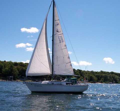 Hullmaster 27, 1977 sailboat