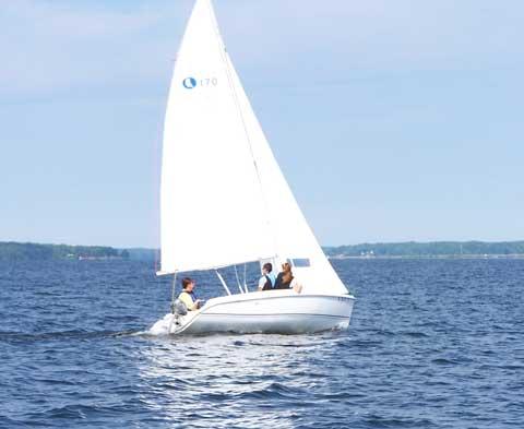 Hunter 170, 2006 sailboat