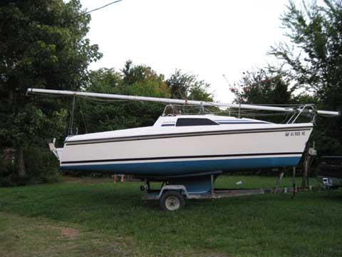 Hunter 18.6, 1986 sailboat