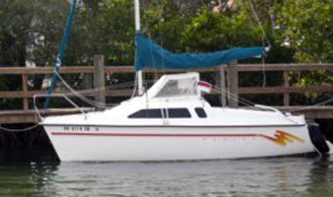 Hunter 19 sailboat