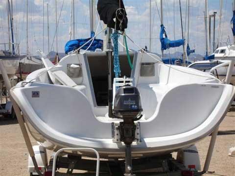 Hunter 216 sailboat