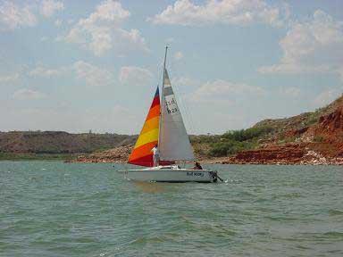 Hunter 23 sailboat