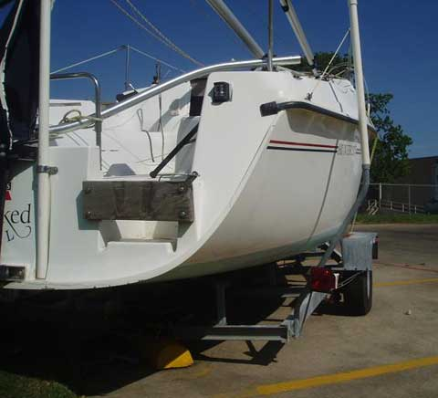 Hunter 235 sailboat