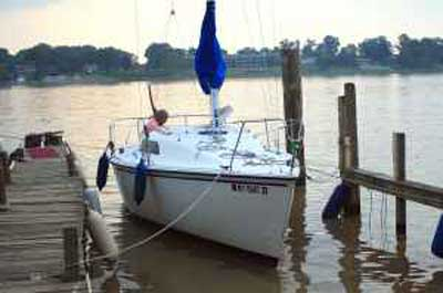 Hunter 23.5, 1986 sailboat