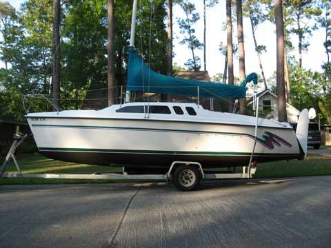 Hunter 23 5 1993 Mandeville Louisiana Sailboat For Sale