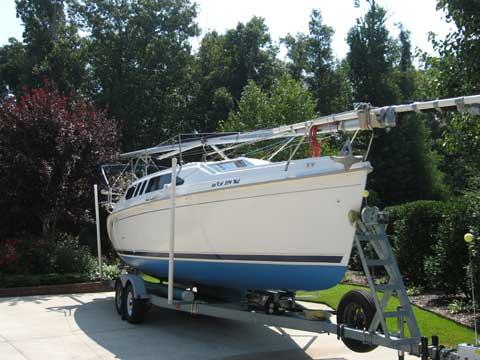 Hunter 260 sailboat