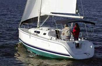 Hunter 27, New 2009 sailboat