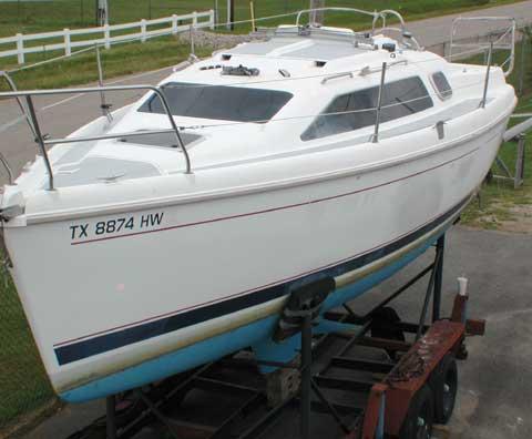 Hunter 280, 1996 sailboat