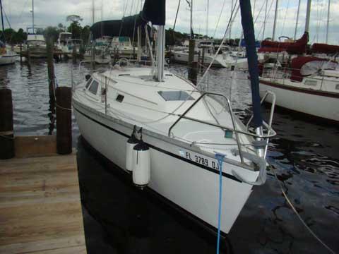Hunter 28 sailboat