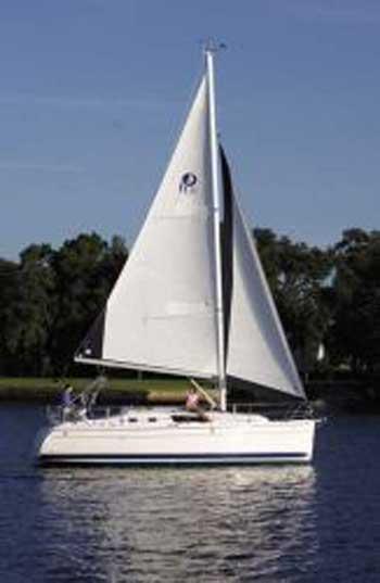 Hunter 31, 2010 sailboat