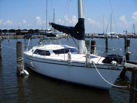 Hunter Vision 32 sailboat