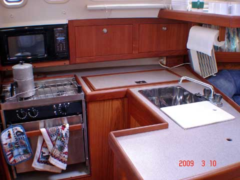Hunter 340 sailboat
