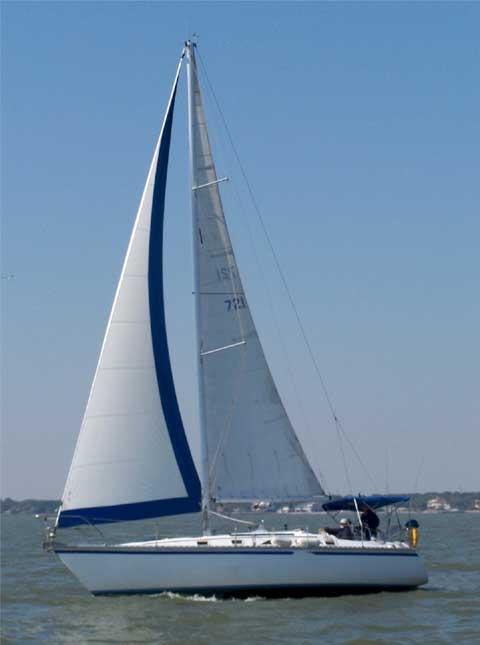Hunter 34, 1984sailboat