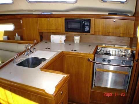 Hunter 356 sailboat