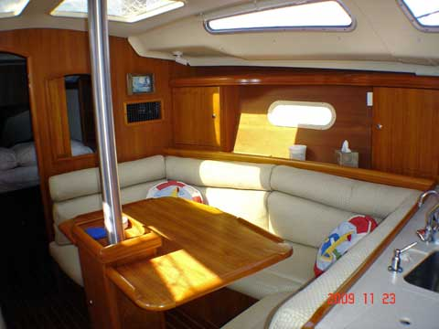 Hunter 356 sailboat