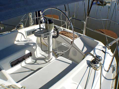 Hunter Legend 37.5 sailboat