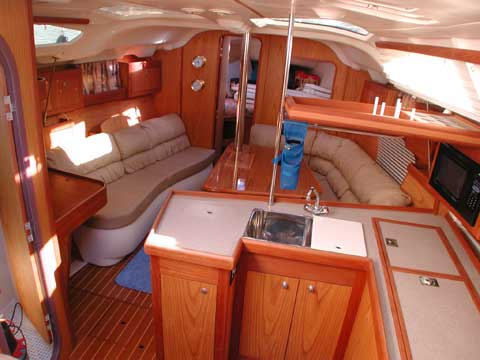 Hunter 380, 1999 sailboat