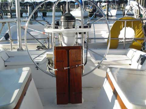 Hunter 40 sailboat