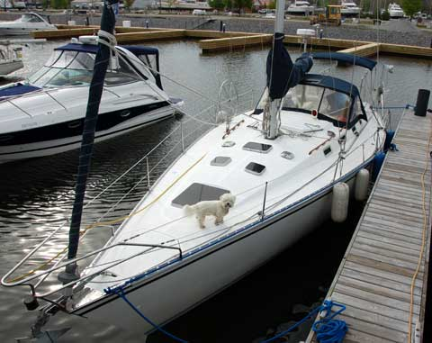 Hunter Legend 40 Sailboat For Sale
