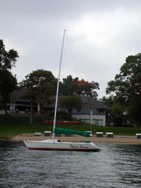 Impulse 21, 1989 sailboat