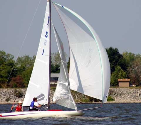 Inland 20 sailboat