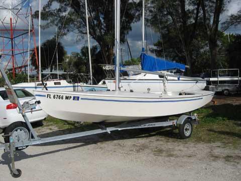 Interlake 18 sailboat