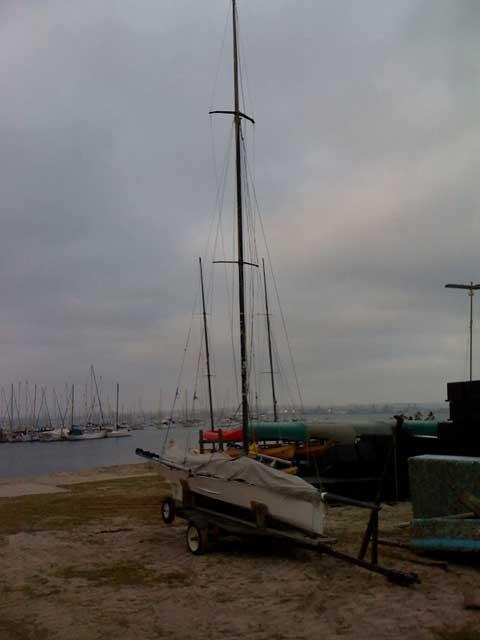 New Rules International 14 sailboat