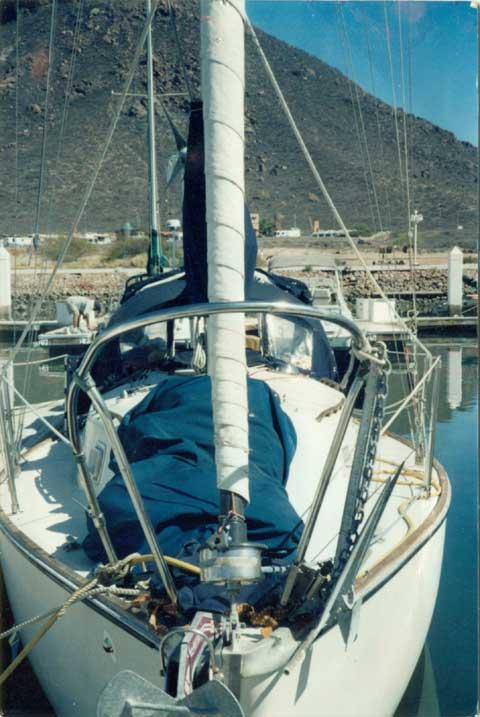 Irwin 28, 1973 sailboat