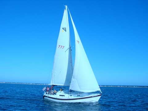 Irwin Citation 31 sailboat