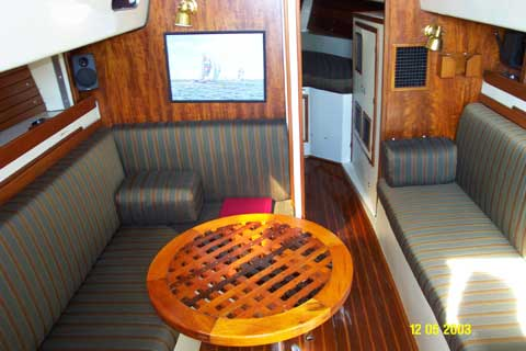 Irwin 32 sailboat