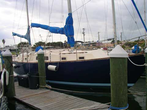 Irwin 37 CC Ketch sailboat