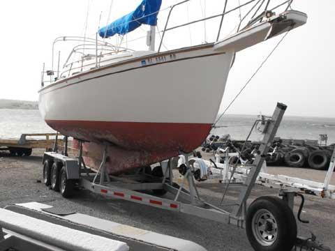 Island Packet 27, 1986 sailboat