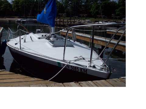 J24, 1987 sailboat